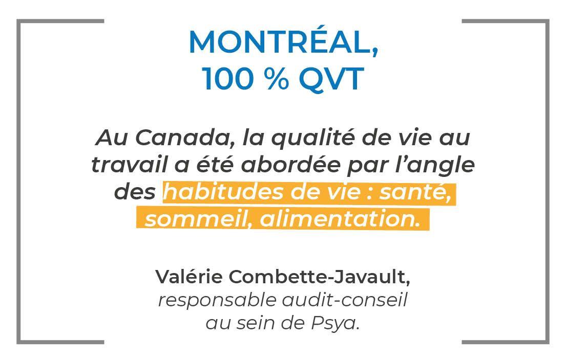 Montréal 100% QVT