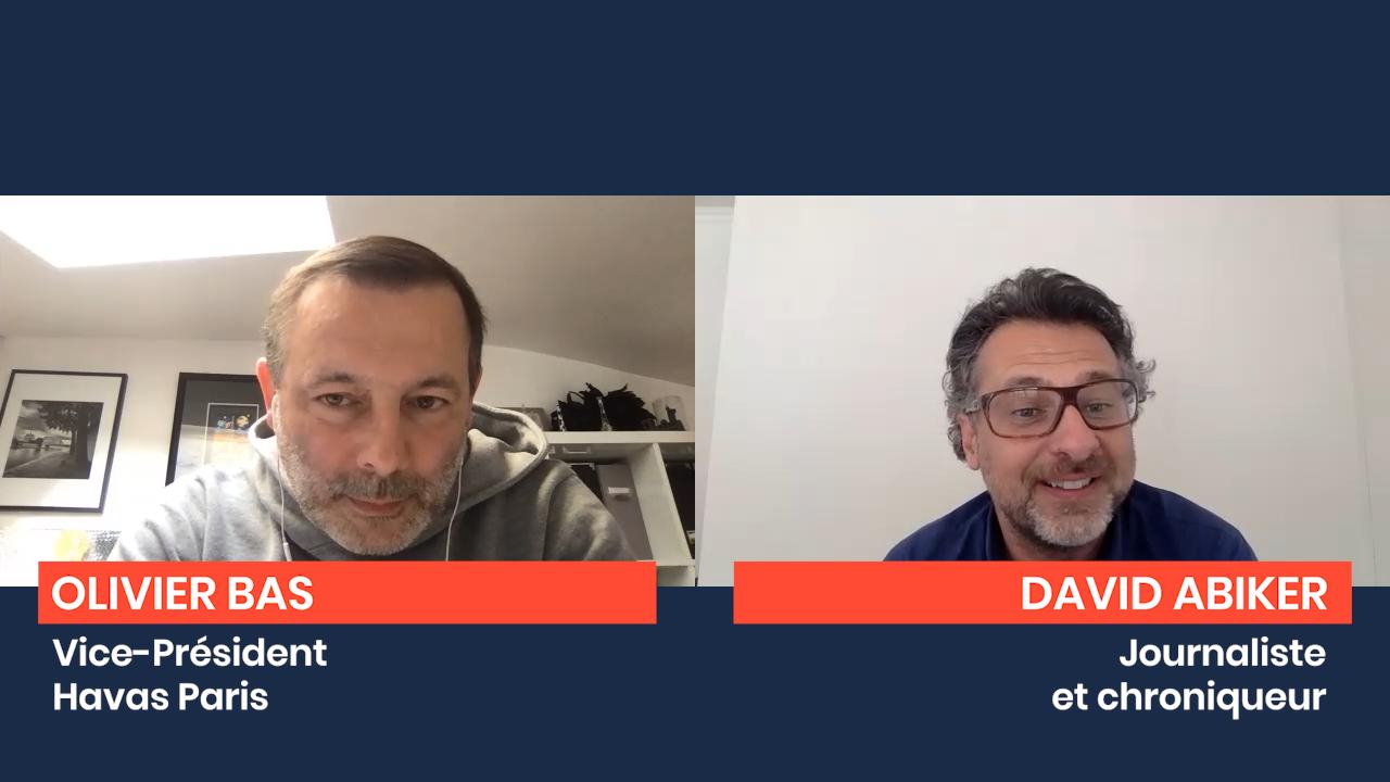 Interview d'Olivier Bas, vice-président de Havas Paris