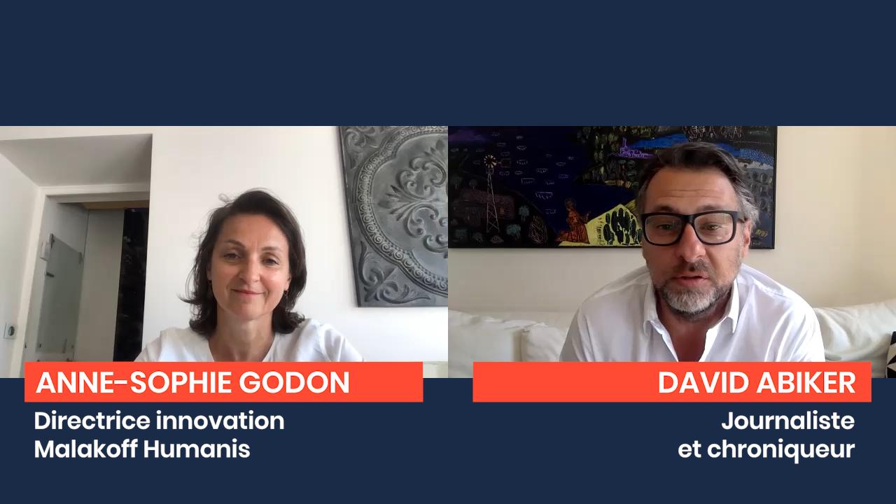 Le Confiné Libéré : Anne-Sophie Godon, Directrice Innovation Malakoff Humanis