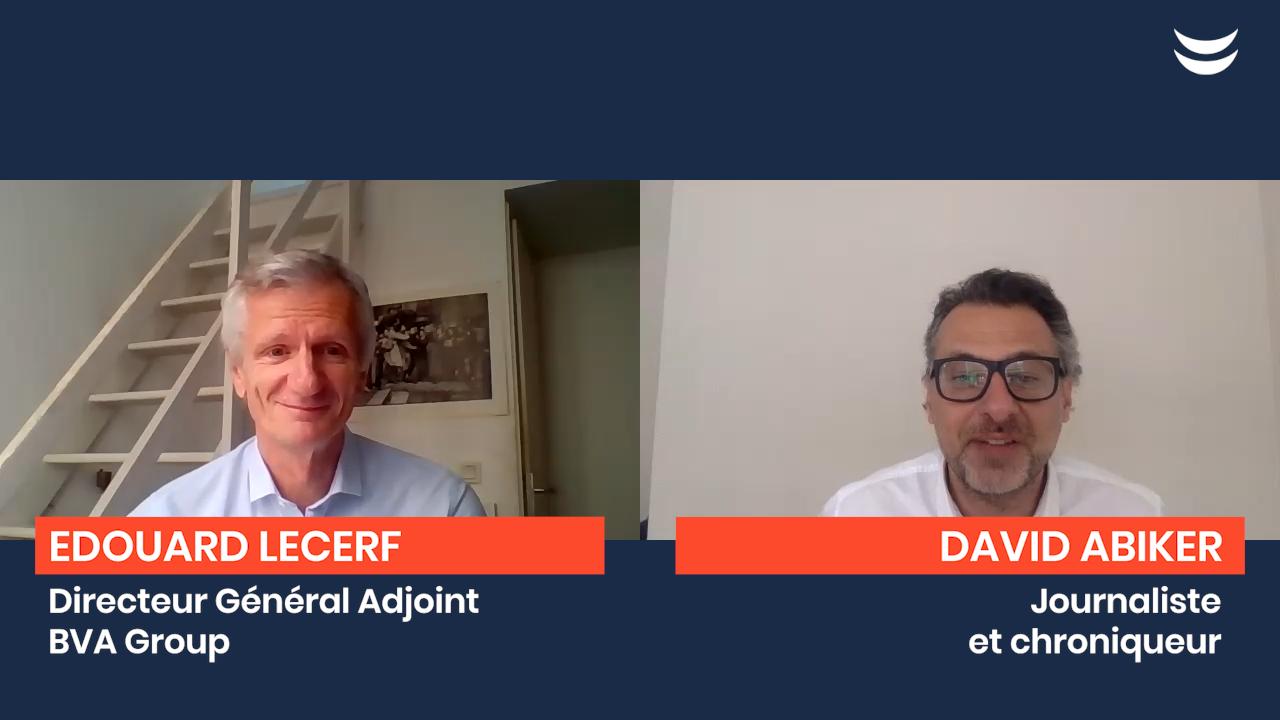 Edouard Lecerf, GD adjoint de BVA Group par David Abiker, chronique de l'entreprise déconfinée