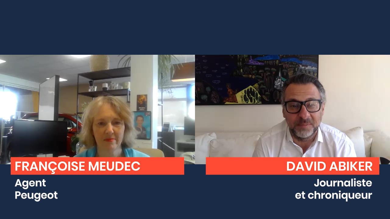 Le Confiné Libéré : Interview de Françoise Meudec, gérante Peugeot