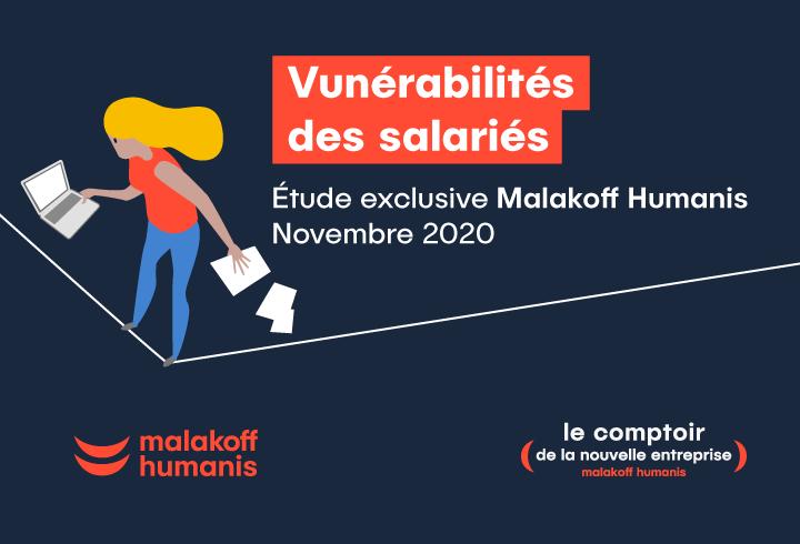 Vulnérabilités des salariés - Étude exclusive Malakoff Humanis - novembre 2020